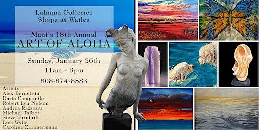 18th Annual ART OF ALOHA Event - Wailea