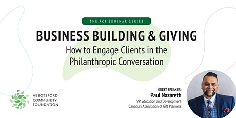 Business Building & Giving with Paul Nazareth tickets