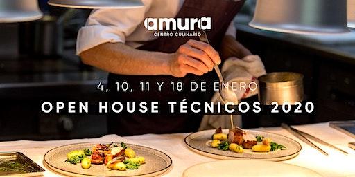 COCINAS ABIERTAS 2020 - Técnicos en Gastronomía Amura