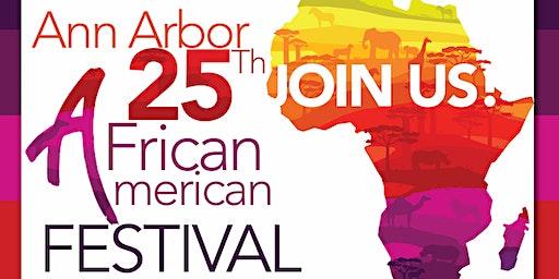 Ann Arbor African American Downtown Festival Sat. June 6, 2020