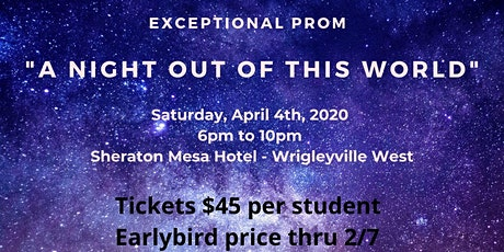 "Exceptional Prom "" A Night Out  of this World"" tickets"