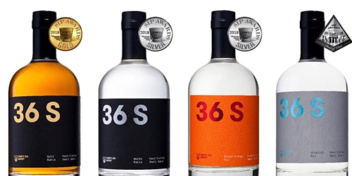36 Short Craft Spirits Tasting Experience