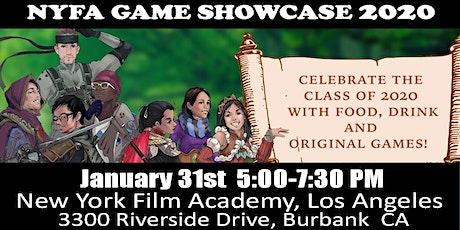 Game Design Showcase 2020 tickets