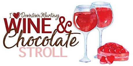 Downtown Martinez Wine & Chocolate Stroll tickets
