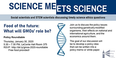 Science Meets Science: GMOs Roundtable tickets