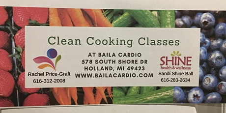 Clean Cooking Class tickets
