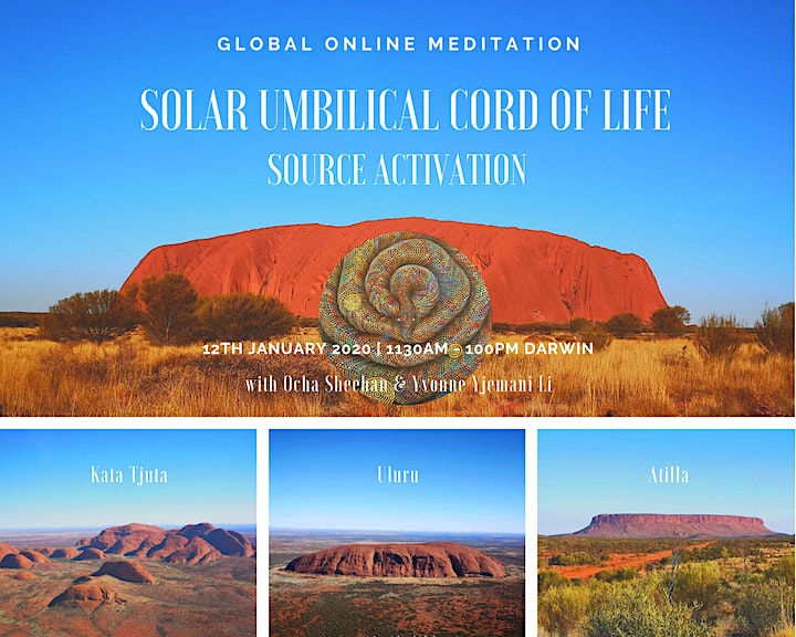 GLOBAL ONLINE MEDITATION: SOLAR UMBILICAL CORD OF LIFE (SOURCE ACTIVATION) image