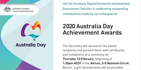 Bus to AGD Australia Day Awards tickets
