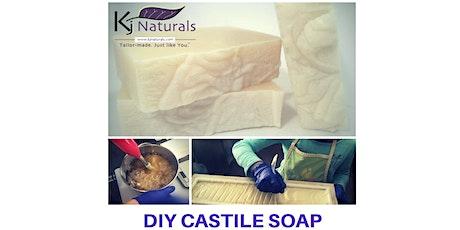 Beginner Natural Soapmaking Class tickets
