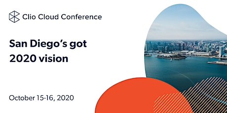 Clio Cloud Conference 2020 tickets