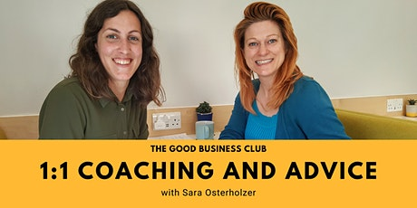 Good Business Coaching & Advice with Sara Osterholzer tickets