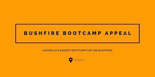Bushfire Bootcamp Appeal - Sydney