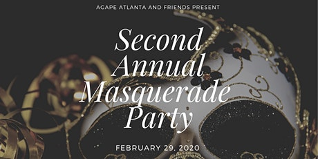 Mysterious Masquerade: Hosted by Agape Atlanta & Friends  tickets