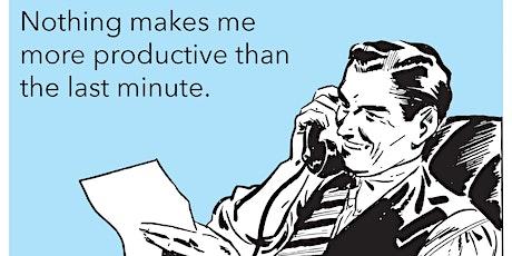 5 Choices of Extraordinary Productivity-November tickets