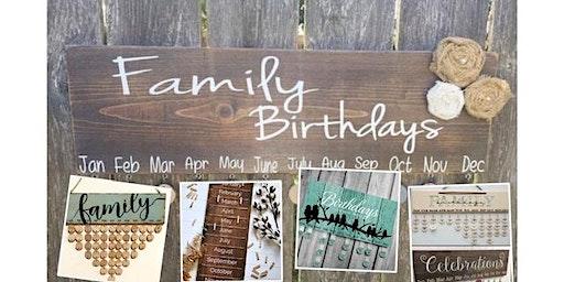 Birthday Sign DIY