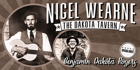 Nigel Wearne and Benjamin Dakota Rogers tickets
