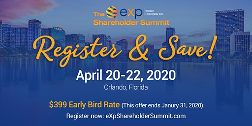 The eXp Shareholder Summit 2020
