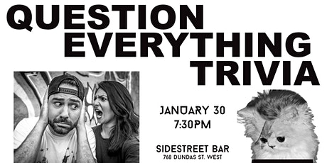 Question Everything Trivia @ Sidestreet tickets