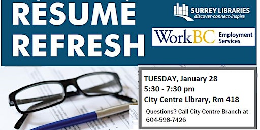 Resume Refresh Workshop