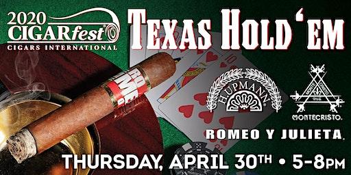 H Upmann Texas Hold'Em