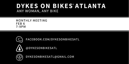 Dykes on Bikes® Atlanta February Meeting