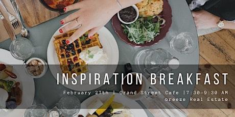 breeze Inspiration Breakfast tickets