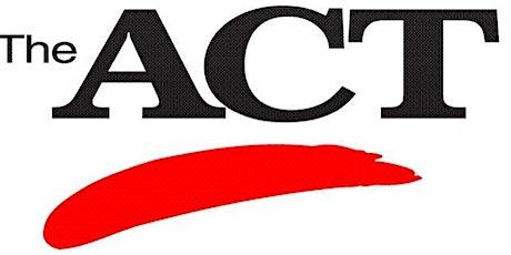 Summer ACT Preparation - 3 Day Workshop (Starting June 20, 2020) tickets