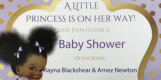 Rayna Blackshear & Arnez Newton's Baby Shower