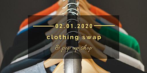 Clothing Swap & Pop Up Shop