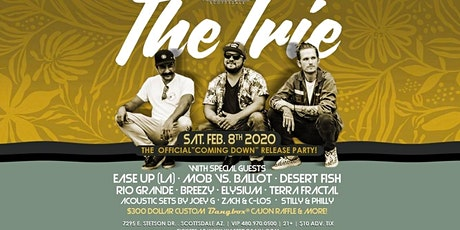 """The Irie CD Release """"Coming Down"""" Party tickets"""