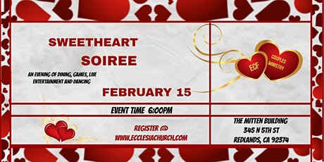 Sweetheart Soiree hosted by ECF tickets