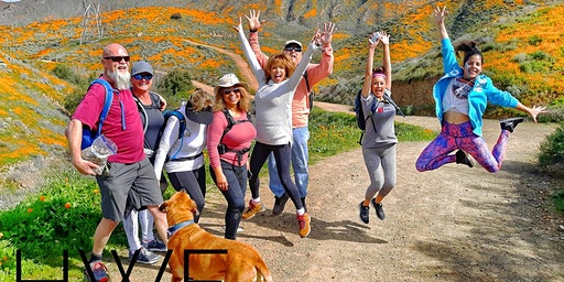 Hiking-with-Friends ~ Walker Canyon Poppie Fields HiKe