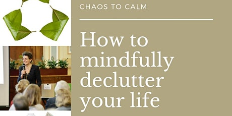 Workshop - How to mindfully declutter your life - Mornington Library tickets