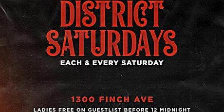 District Saturdays tickets