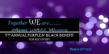 Together WE are...(7th Purple & Black Benefit) tickets