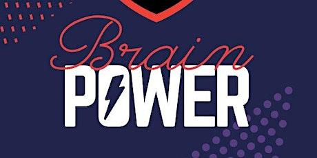 Brain Power | Marca Pessoal ingressos