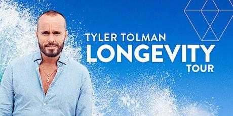 Tyler Tolman LONGEVITY: Adelaide tickets