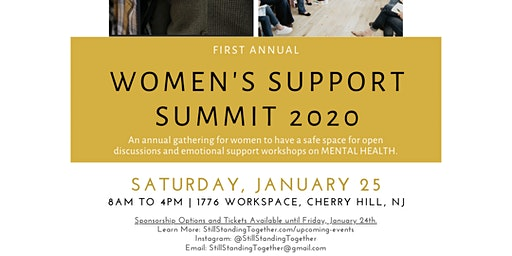 Still Standing Together Women's Support Summit 2020