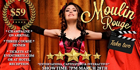 Burlesque Moulin Take Two! tickets