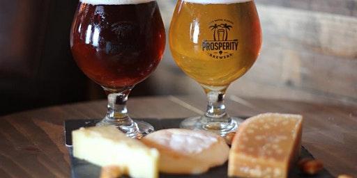 Cheese & Beer Pairing at Prosperity Brewers