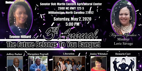 3rd Annual The Future Belongs to U Banquet tickets