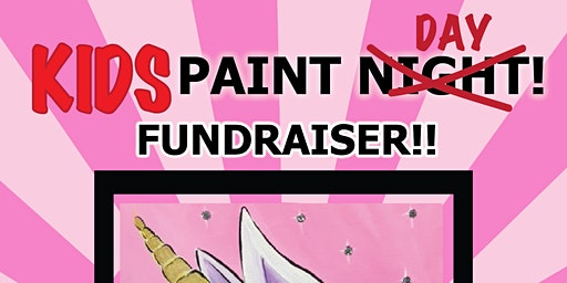 Kids Paint Fundraiser at Expressions Dance