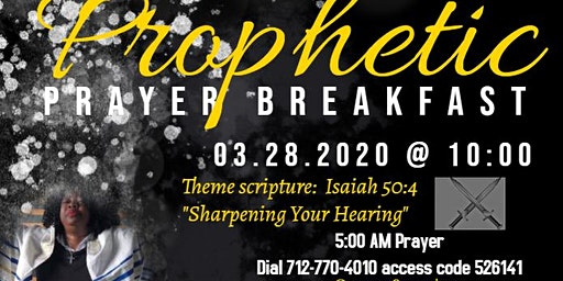Prophetic Prayer Breakfast