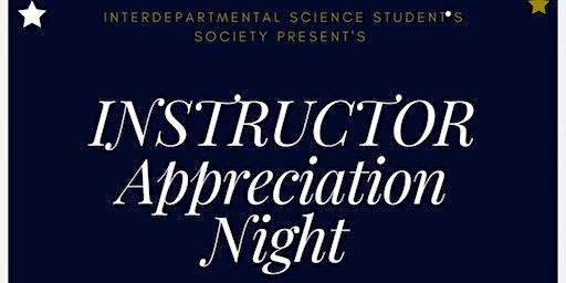 Instructor Appreciation  Night