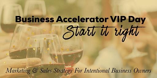 Business Accelerator VIP Day
