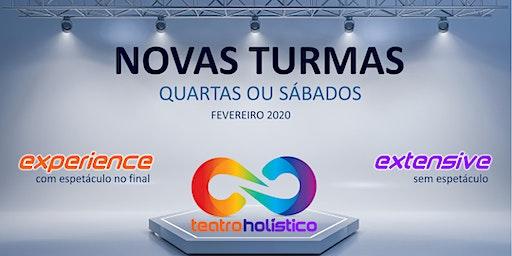 NOVAS TURMAS DE TEATRO HOLÍSTICO 2020