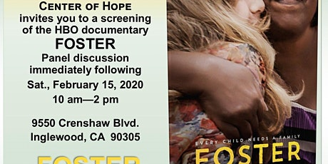 HBO Documentary FOSTER-Center of Hope & Faith Foster Families Network (3FN) tickets