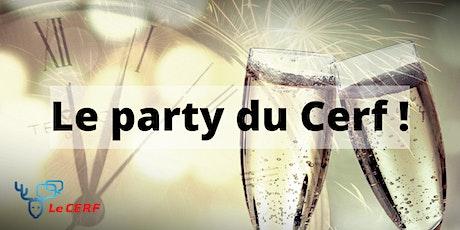 Party du CERF - 30 janvier 2020 billets