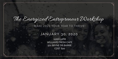 The Energized Entrepreneur Workshop tickets