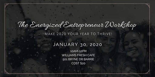 The Energized Entrepreneur Workshop